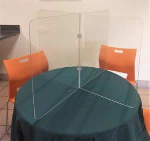 4 Way Round Table Barrier